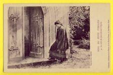 cpa Bonne Presse, PARIS Fable Légende NOËL du petit TYROLIEN Mère de Jean Eglise