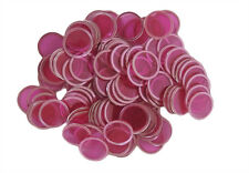 100 COUNT MAGNETIC BINGO CHIPS (RED)