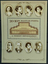 Hungary 1986 SG#MS3714 National Theatre MNH M/S #D2629