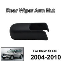 Fit For BMW X3 E83 2003-2010 Rear Windscreen Wiper Arm Cap Washer Cover Nut
