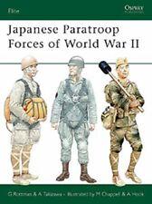 Osprey Elite 127: Japanese paratroop Forces of ww II Japon parachutistes/Nouveau