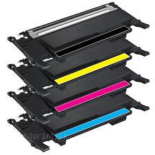 4 PK CLT-K407S CLT-C407S CLT-M407S CLT-Y407S For Samsung CLX3180 CLX3185 CLX3186