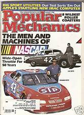 Popular Mechanics Aug 1998 - 50 years of NASCAR Petty  - Roller Coasters - iMAC