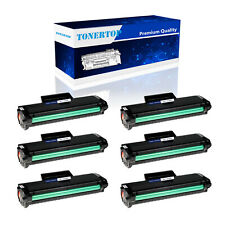 6 PK MLT-D104S D104S Toner Cartridge For Samsung ML-1600 1660 1665 1666 1865