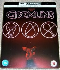 Gremlins 4K Ultra HD Limited Edition Steelbook+Blu Ray / WORLDWIDE SHIPPING