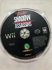 Tenchu Shadow Assassins Nintendo Wii Tested Works Free Shipping