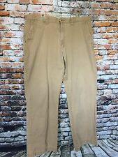 OLD NAVY CLASSIC KHAKIS Pants Beige Fishing, Hunting, Golf, Cotton Size 38 X 32
