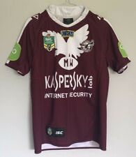 More details for men's adult nrl manly warringah sea eagles rugby shirt size s isc