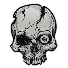 Magnetic Bumper Sticker - One Eye Skull Magnet - Great For Halloween