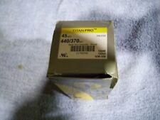 New listing Motor Run Capacitor,45 Mfd,4-5/8 In. H Titan Pro Trcf45