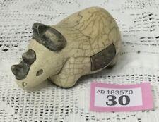 Studio pottery Rhino Potters Mark On Base