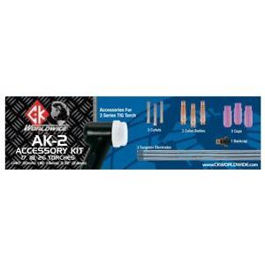 CK Worldwide 3 Series TIG Torch Accessory Kit (AK-2)