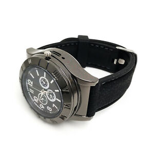 Mens Military Electric Lighter Watch Cigarette Rechargeable Wristwatch USB