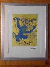 """Lithographie ,  Andy Warhol , """" Singe """" Tirage numéroté"""