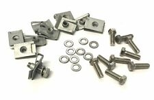 10 x Automotive M5 Chimney Captive Spring Nut Clips in Geomet Coating and Bolts