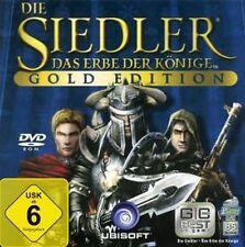 DIE SIEDLER 5 GOLD + 2 AddOns Nebelreich + Legenden GuterZust.