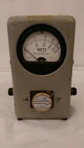 Bird Wattmeter Thruline Model: 43 -Untested-