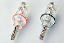 Beryllium Copper Speaker Banana Plug Connector 2 pairs
