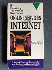 Online Services and the Internet - VHS 1996 RARE Educational Retro PBS