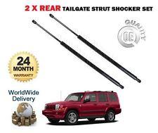 Para Jeep Commander 3.0 Td 4.7 5,7 2005-2009 Nuevo 2x Cola Trasero Puerta Strut Shocker