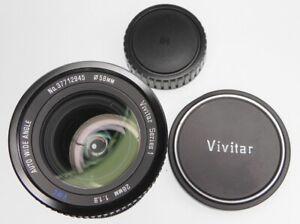 Vivitar Series 1 28mm f1.9 VMC Minolta SR mount  #37711945  .......... Minty
