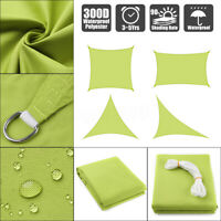 300D Sun Shade Sail UV Block Canopy Outdoor Patio Top Cover Rectangle  L