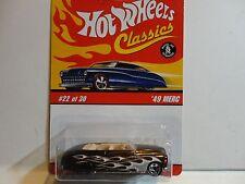 Hot Wheels Classic Series 2  #22 Brown '49 Merc