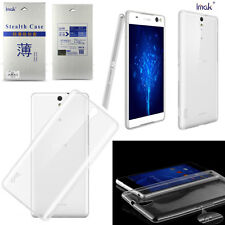 Xperia C5 Ultra Cover Imak Ultra Thin Soft TPU Gel Case For Sony Xperia C5 Ultra