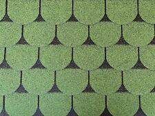 Dachschindeln 18m? Biberschindeln Grün (6 Pakete) Schindeln Dachpappe Biber