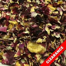 CLEARANCE 5 Litres Wedding Confetti Tropical Crush Rose Petals Biodegradable