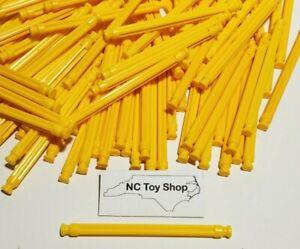 "200 K'NEX Yellow Rods 3-7/16"" Bulk Standard Lot Replacement Parts Pieces KNEX"