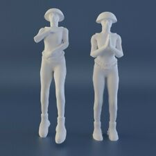 Lost In Space 1:35 1/35 Athena Figure Green Lady Floating Standing 3D printed