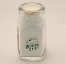 Vintage Dairy Creamer Mountain Dairy Ridgway PA Diner Coffee Collectible 3/4 oz