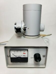 Zeiss Microscope 12V 100W illuminator with Power Supply TESTED !