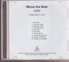 minus the bear omni cd promo