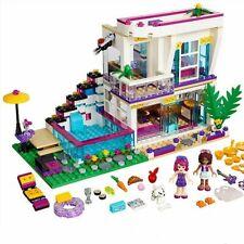 600+ PCS Pop Star Livi's House Building Block Compatible Friends Toy For Child