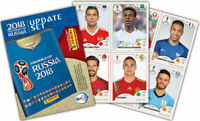 Panini World Cup Russia 2018 92 Stickers Update Set