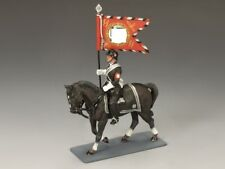 King and Country LAH121 Mounted SS Guidon Bearer
