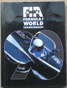 FORMULA 1 WORLD CHAMPIONSHIP 1990 HARDBACK