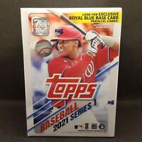 2021 Topps Series 1 Blaster Box - MLB Baseball - 99 Cards (Factory Sealed)