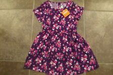 a726a5144f0 NEW Gymboree Girls Purple Floral Spring Summer Dress Size 4 5 6 NWT One  Piiece