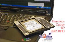 60 GB FESTPLATTE + CADDY =  2. FESTPLATTE IN IHREM IBM THINKPAD T60 T61 Z60 Z61