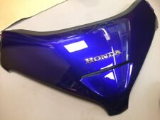 USED FRONT WINDSHIELD GARNISH 02-03 HONDA GL1800 GOLDWING ILLUSION BLUE
