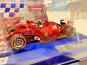 Carrera 30734 Digital & Analog F1 Ferrari F14 F. Alonso #14 1/32 Scale Slot Car