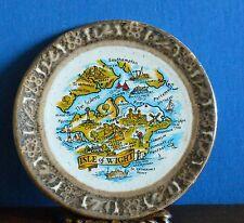 "Small Isle of Wight 4.5 "" plaque English Ironstone tableware"