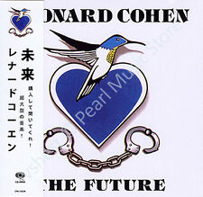 LEONARD COHEN THE FUTURE CD MINI LP OBI Canadian singer songwriter musician poet