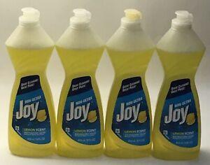(4) Joy Ultra Dishwashing Liquid (Lemon Scent) 14 Fl. Oz. Each