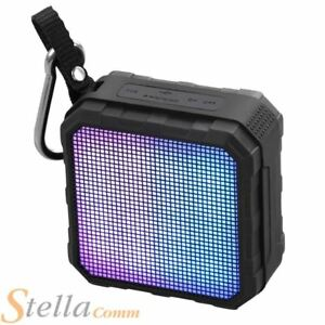 Promate Flash Rugged Bluetooth NFC Wireless SpeakerWith LED Light Show Equalizer