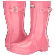 Women's Hunter' Short' Gloss Rain Boot Sz 8 M