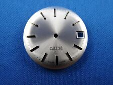 Wrist Watch Dial -Blank- Swiss Made -17 Jewels- 28.5mm -Incabloc-Date at 3  #284